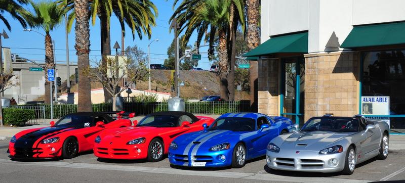 Motor Village La >> Vipers At The La Auto Show And Motor Village La