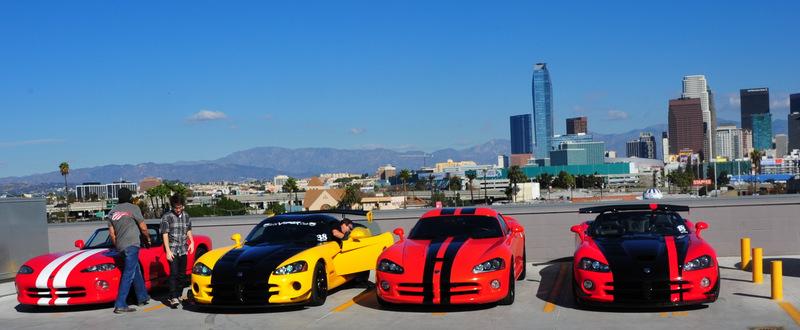 Vipers At The La Auto Show And Motor Village La